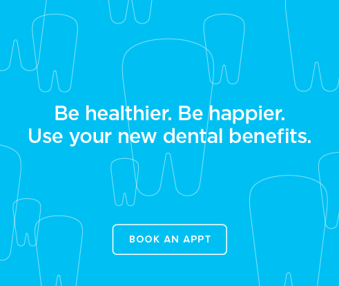 Be Heathier, Be Happier. Use your new dental benefits. - Sparks Marina Dentistry